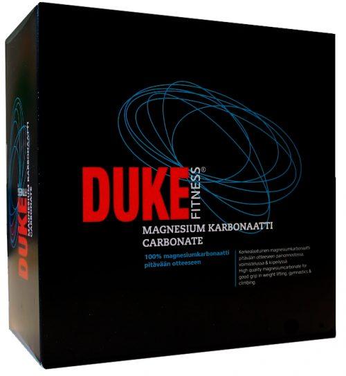 Duke Fitness magnesium myydään 8:na yksittäispakattuna magnesiumpalana.