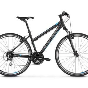 Kross Evado 3.0 naisten hybridi polkupyörä on sopivasti sporttinen menopeli!
