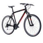 Kross Evado 3.0 miesten hybridi on sopivasti sporttinen polkupyörä!