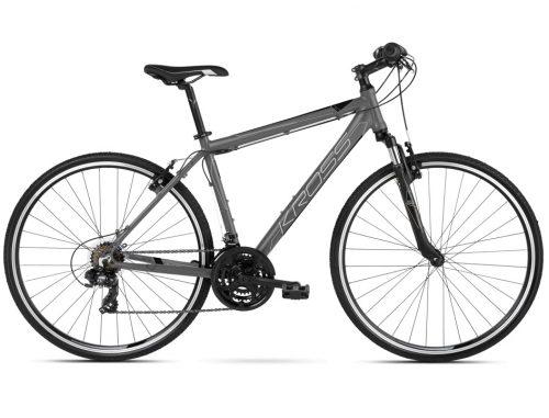 Kross Evado 3.0 miesten hybridi polkupyörä on hyvin varusteltu, monipuoliseen käyttöön suunniteltu polkupyörä aikuisten makuun.
