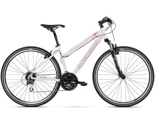 Kross Evado 3.0 naisten hybridipolkupyörä on hyvin varusteltu, monipuoliseen käyttöön suunniteltu polkupyörä aikuisten makuun.