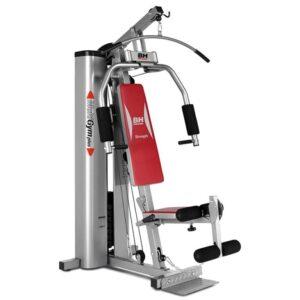 BH Fitness Multigym Plus on Täystoiminen, intensiiviseen treenaukseen tarkoitettu kuntokeskus.