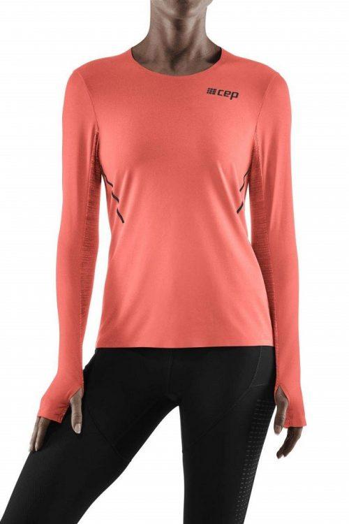Cep run shirt naisten treenipaita pitkähihainen on huipputekninen juoksu- ja treenipaita, joka tuntuu hyvältä päällä, istuu täydellisesti ja on turvallinen käytössä heijastinauhojensa vuoksi!
