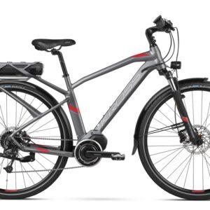 Kross sähköpyörä Trans Hybrid 3.0 miehille on huippuvarusteltu hybridipyörä korkealaatuisin komponentein.