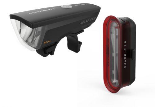 Quark set II pyöränlamppusetti