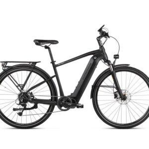 Kross sähköpyörä Trans Hybrid 4.0 on huippuvarusteltu miesten hybridipyörä korkealaatuisin komponentein.