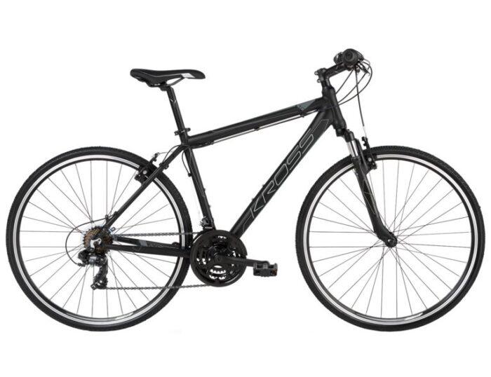 Kross Evado 1.0 miesten hybridi polkupyörä on sporttinen kulkupeli