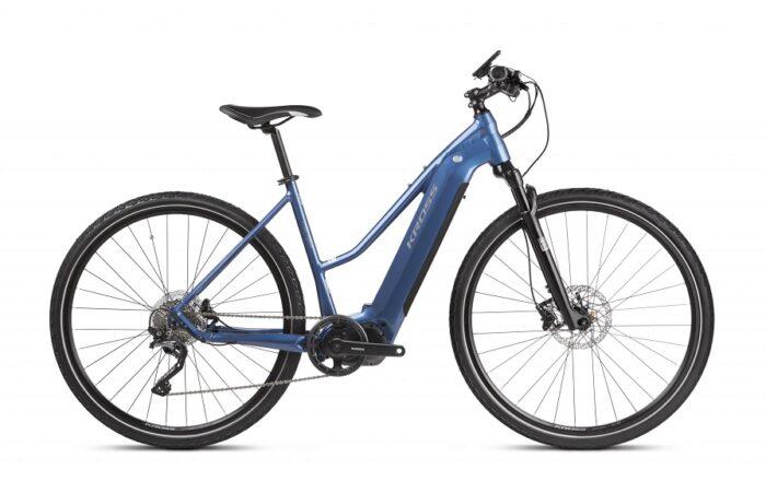 Kross Evado Hybrid 6.0 sähköpyörä on tyylikäs ja tehokas, täysin varusteltu sporttinen pyörä monipuoliseen ajamiseen, tyylikkäästi integroidulla akulla.
