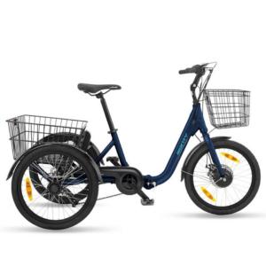 Monty E132 kolmipyörä sininen